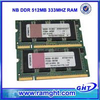 Factory direct computer parts best price 512mb ram ddr for laptop