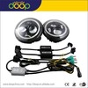 new arrival H4 h/l 30w with halo angel eyes 7'' round led headlamp