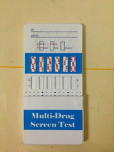 DOA Multi-Drugs dips test / One Step AMP/BZO/COC/MDMA/ THC/MOR/OPI/MET/BAR Rapid Test / Urine drugs test strips