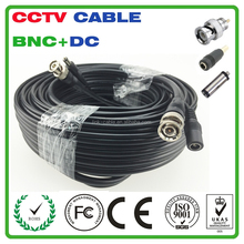 100Ft High Quality CCTV cable RG59+POWER for HD camera from Shenzhen