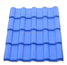 sound absorption pvc plastic roofing tile/heat insulation pvc roofing sheet