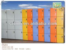 phenolic hpl removable lockers for supermarket