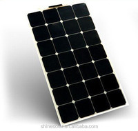 Semi flexible solar photovoltaic module panel 80w 12V