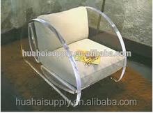 leisure acrylic chair and sofa