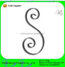Decorative Wrought Iron Product Scrolls