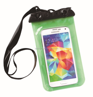 2015 New Waterproof Phone Bag 100% Sealed Plastic Pouch Underwater Phone Bag Case Diving Mobile Bag Pouch