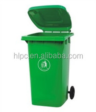 240 liter pure HDPE dustbin disposable trash bin square trash can fa deodorant