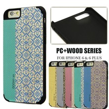 Painting bamboo case for cell phone iphone 6,cell phone accessories for iphone 6