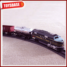 Kids Funny B/O Battery Operated 1:87 Plastic Classic Railway Electric Locomotive model kids electric ride on scale train thomas
