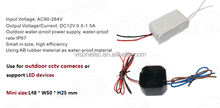 outdoor waterproof 24v dimmable led driver for led strips, for led lights