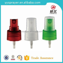 Plastic Material and Pump Sprayer Sealing Type perfume atomizer