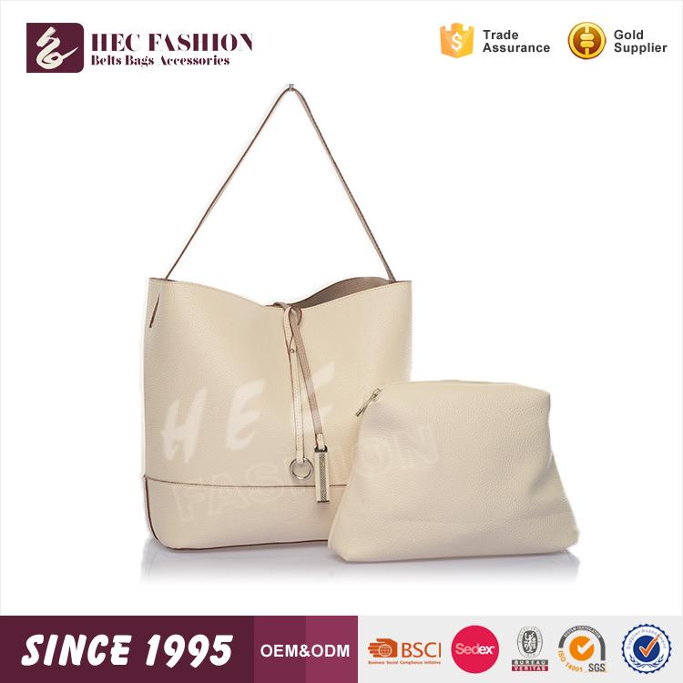 Hec شعار مخصصة المطبوعة النساء أزياء حمل حقيبة جلدية pu المواد في الأسهم