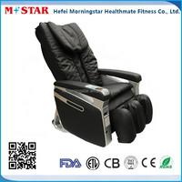 Cool Black Vending Massage With Six Wheels Massage