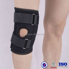 neoprene waterproof adjustable fixed orthopedic Chinses factory customize knee support welcro medical running sports knee brace