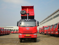 Economic and durable 4x2 light dump truck 8 tons truck faw