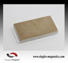 N35 N40 N42 N45 N50 N52 permanent strong Ni coating neodymium block magnet stop water meter