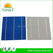 Taiwan Brand high efficiency 6x6inch poly solar cells for making high power solar module with good price and fast delivery.