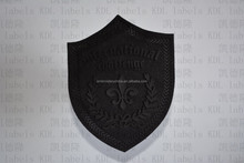 big size carved leather upper wear patches