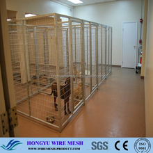 Factory Direct Sale Cheap Welded Wire Dog Kennels Fence Panels / Mutiple Inner Dog Kennels for sale