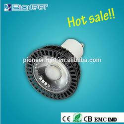 gu5.3 high bright 5w led spot light 3000k 6000k spot led light New product 5w/7w led lighting Zhong shan