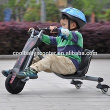 Hot sale most popular kids scooter flash rider Tricycle 360 cover electric china recumbent delta tricycle
