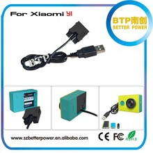 Eliminator battery fro xiaomi yi sport camera brand new professional manufacture by action camera accessories factory