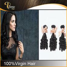 Brazilian natural hair extensions/6A grade black woman queen hair weaving