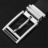 top grade silver belt buckle set mens belt fastener