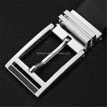 top grade silver belt buckle set mens belt fastener