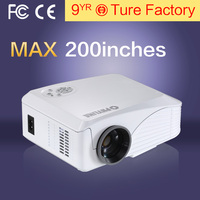 Hot Sale Top Rank 3D Lcd Projector With Led Lamp Support 1080p 260 Inches Big Screen 16:9 Inside Speaker