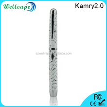 Newest rechargeable reusable e hookah Kamry 2.0 vaporizer