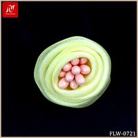 Artificial flower bud pure handmade flower making for kids hat or bra decoration