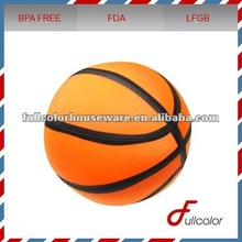 basketball micro beads inflatable body pillow