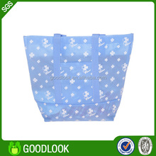 recycled & foldable non-woven tote bag for baby clothing promotion