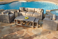 New hd design rattan outdoor furniture (DH-N9040)