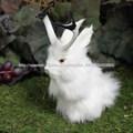Furry Animal Taxidermia Figurita Monte cabeza al por mayor de la venta caliente del conejo