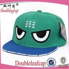 Wholesale custom children funny snapback caps 3D embroidery caps