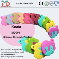China Supplier New Products 100% Food Grade Silicone Teether Animal Shape Wholesale Made