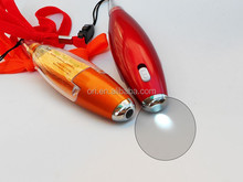 Mini cute Led pen with memo,Plastic Memo Pen With Led Light and Lanyard
