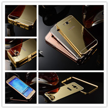 Aluminum Mirror Phone Case For Samsung J7,Metal Case For Samsung Galaxy J7