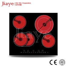 four burner electric hob 110V for South American Market/electric coil hob/Touch Controls Ceramic Hob JY-CD4007