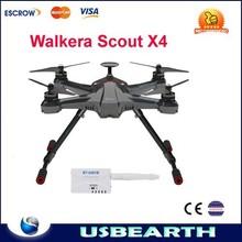 Walkera Scout X4 GPS RC Quadcopter Devo F12E ILook+ WHITE FPV2 RTF Support Ground Station