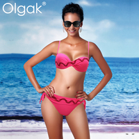 2015Olgak Elegant Sexy Bikini Swimsuit Beautiful Girl's Choice GorgeousColor