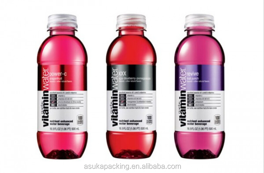 Vitamin Water Label images Vitamin Water Bottle Label