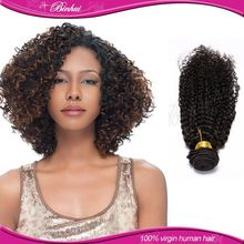 China Top Ten Selling Products No Mix Kinky Curly Ponytail