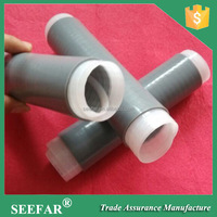 "1/2"" Cold Shrinkable Coaxial Cable Sleeve Silicon Insulation Tube"