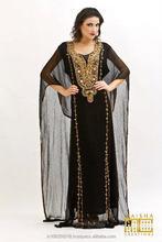 Wholesale Dubai Khaleeji Kaftan robe moroccan kaftan dress luxury kaftan abaya islamic clothing k2018