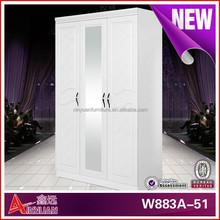 W883A-51 hotel furniture set bedroom wall wardrobe design