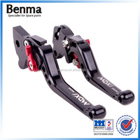 Alibaba wholesale redesigned CNC aluminum disc and drum brake RSZ100 motorcycle clutch lever