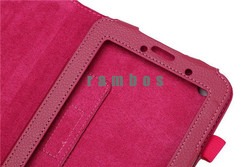 Multi Color Folio PU Leather Case Stand Flip Cover Tablet Skin for Lenovo A3000 A3300 A3500 A5500 S6000